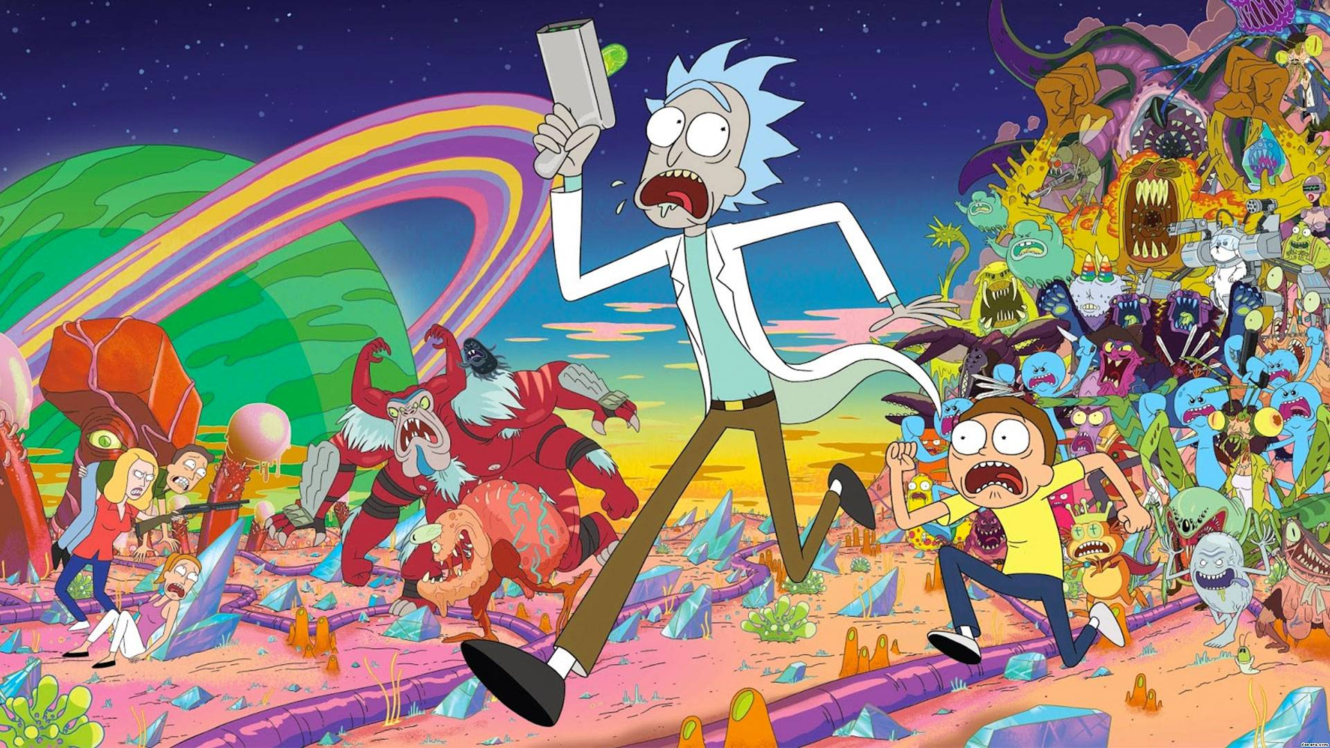 rick-and-morty-wallpaper
