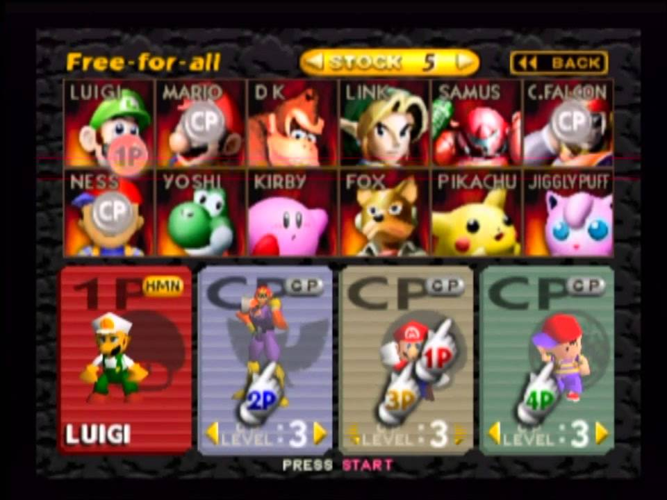 N64 Super Smash Bros 11