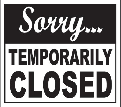 Closed cover