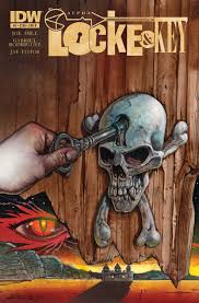 Locke and Key ghost cover