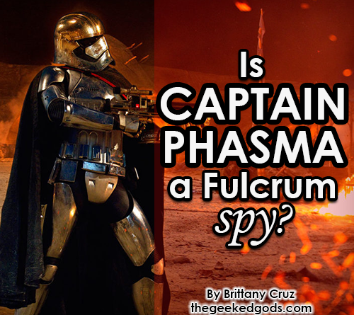Featured Image Captain Phasma Spy