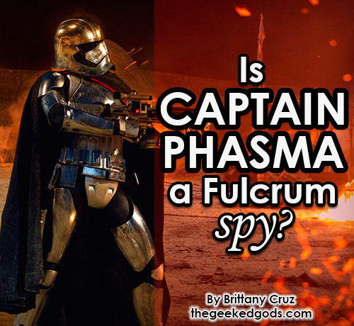 Featured Image Captain Phasma Spy